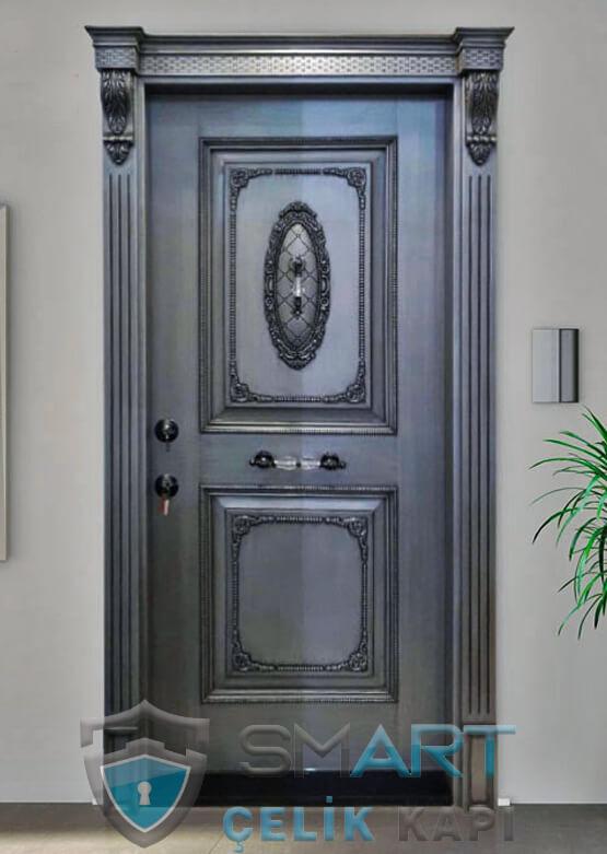 Klasik Çelik Kapı Kabartmalı Lüks Gates
