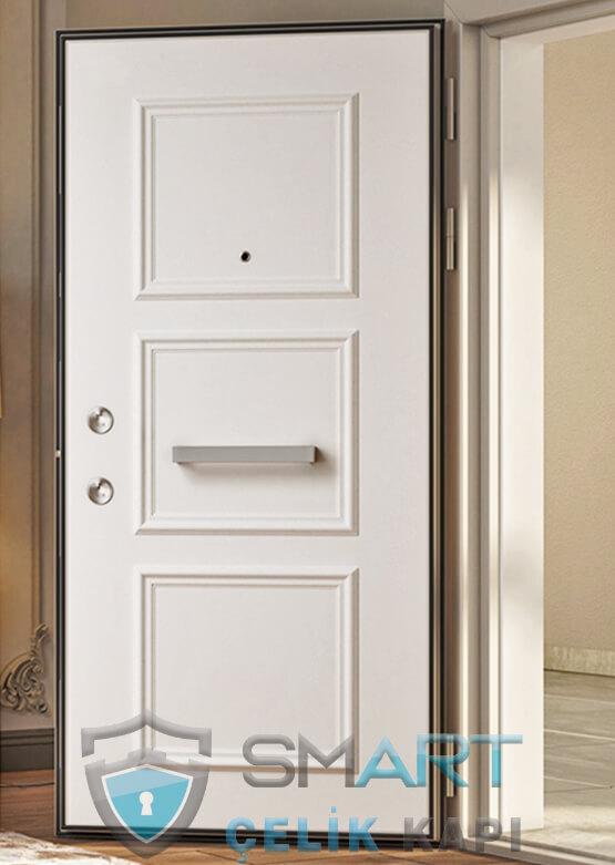 Klasik Çelik Kapı Kabartmalı Lüks Minerva