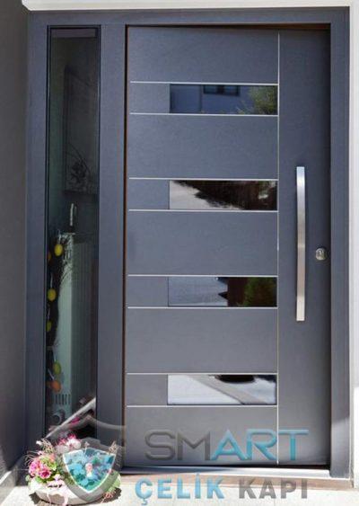 Antrasit Villa Kapısı Villa Kapı Modelleri Çelik Kapı Fiyatları İstanbul Bodrum Fethiye