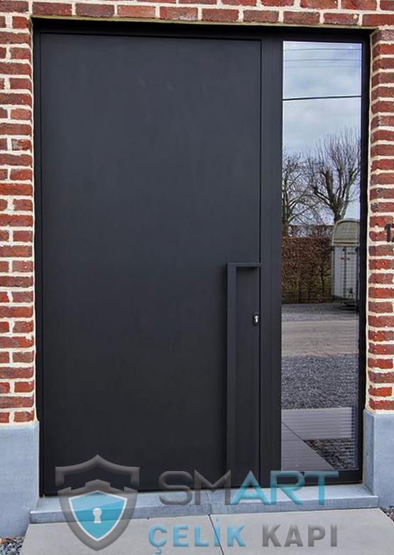 Kompozit Kaplama Villa Kapısı BlackSide