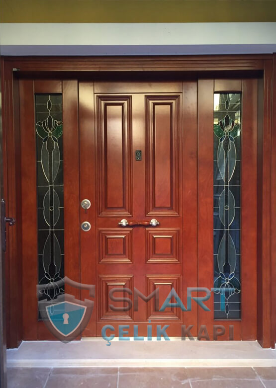 Villa Kapısı Dış Mekan Çelik Kapı Ölçüye Özel Üretim VK-040