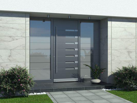 Villa Kapısı Resimleri, Villa Giriş Kapısı 2021 Kompozit Villa Kapısı Fiyatları Antrasit Villa Kapısı Görsel