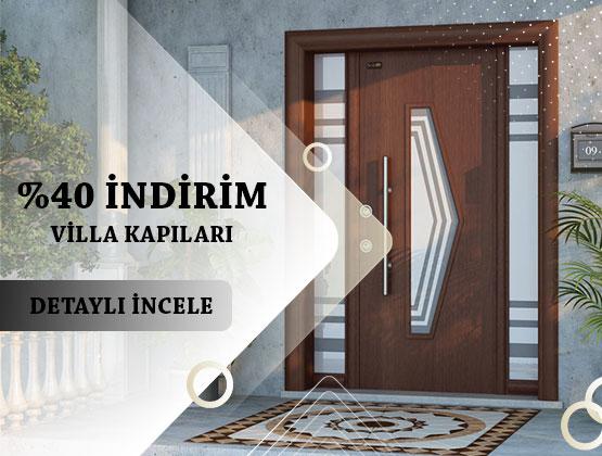 villa kapısı