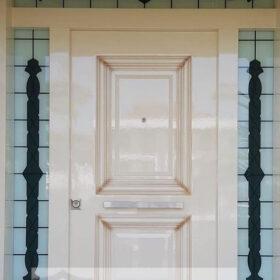 Beyaz Lüks Villa Kapısı YHY 0211