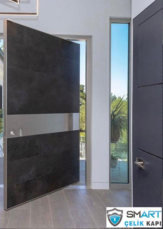 Siyah Pivot Kapı ULY-3032