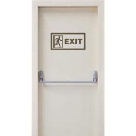 Beyaz Yangın Kapısı Smr-4041