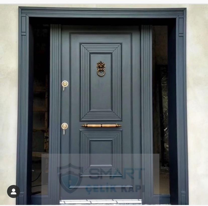 Siyah Lüks Villa Kapısı YHY 0212