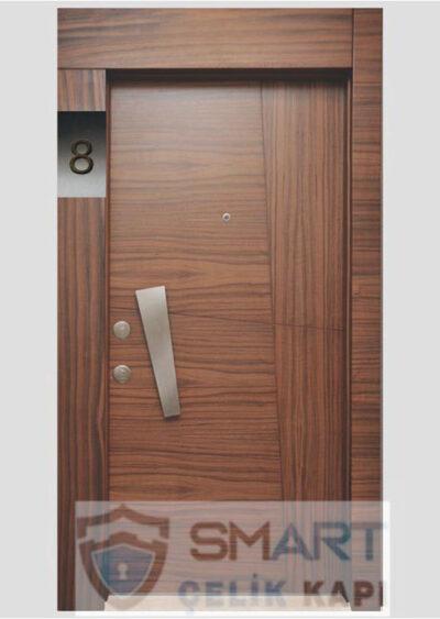 Ahşap Görünümlü Çelik Kapı YHY 0226