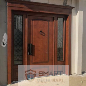 Ahşap Görünümlü Özel Villa Kapısı YHY 0239
