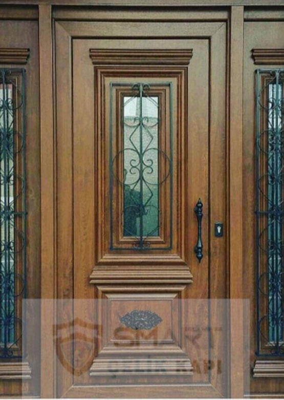Ahşap Görünümlü Villa Kapısı YHY 0224