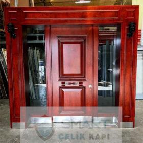 Ahşap Mat Modern Villa Kapısı YHY 0237