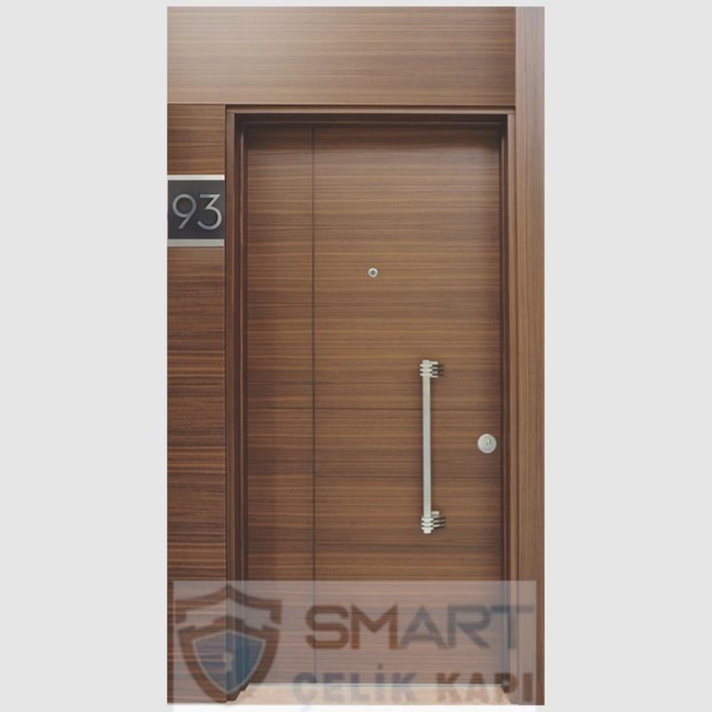 Açık Kahve Rengi Çelik Kapı YHY 0227