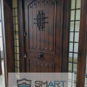 Ahşap Mat Modern Villa Kapısı YHY 0234
