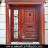 Özel Tasarım Wooden Villa Kapısı YHY 0241
