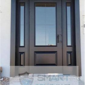 Siyah Mat Modern Villa Kapısı YHY 0231