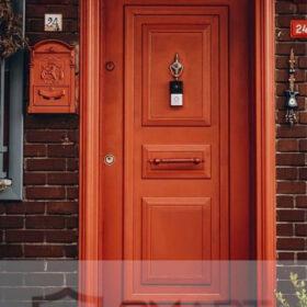 Mat Lüks Çelik Kapı YHY 0275