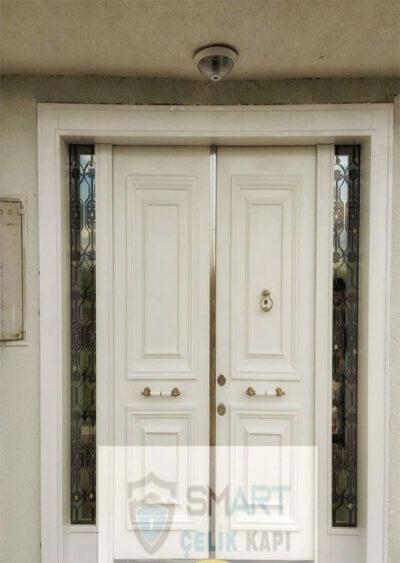 Beyaz Lüks Villa Kapısı YHY 0267