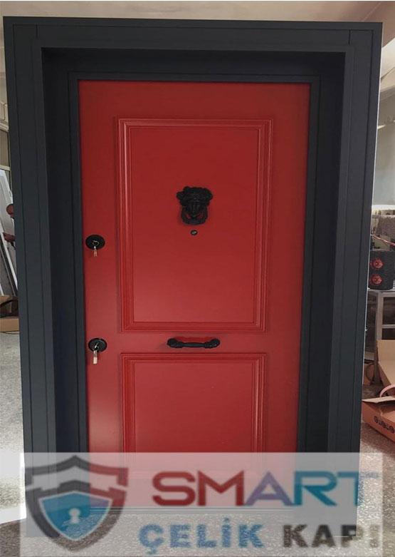 Mat Kırmızı Lüks Villa Kapısı YHY 0274