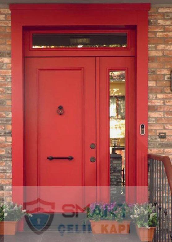 Kırmızı Lüks Villa Kapısı YHY 0271
