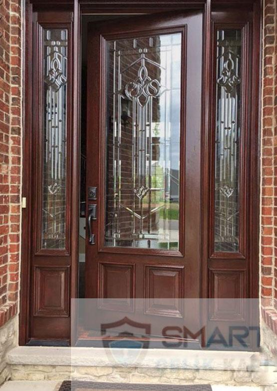 Lüks Bina Giriş Kapısı YHY 0272