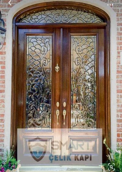 Kahverengi Villa Kapısı YHY 0285