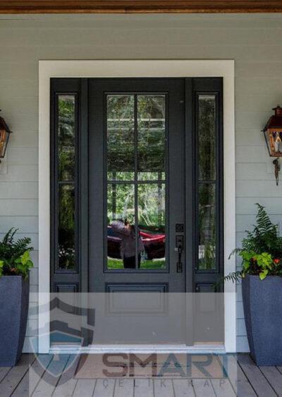 Lüks Siyah Villa Kapısı YHY 0284