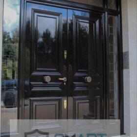 Schwarz Matt Lüks Villa Kapısı YHY 0280