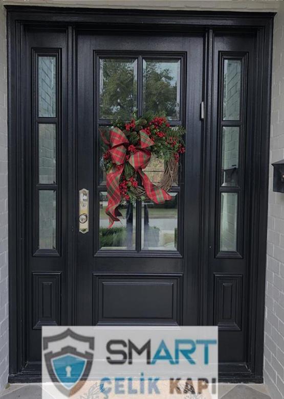 Lüks Siyah Villa Kapısı YHY 0286