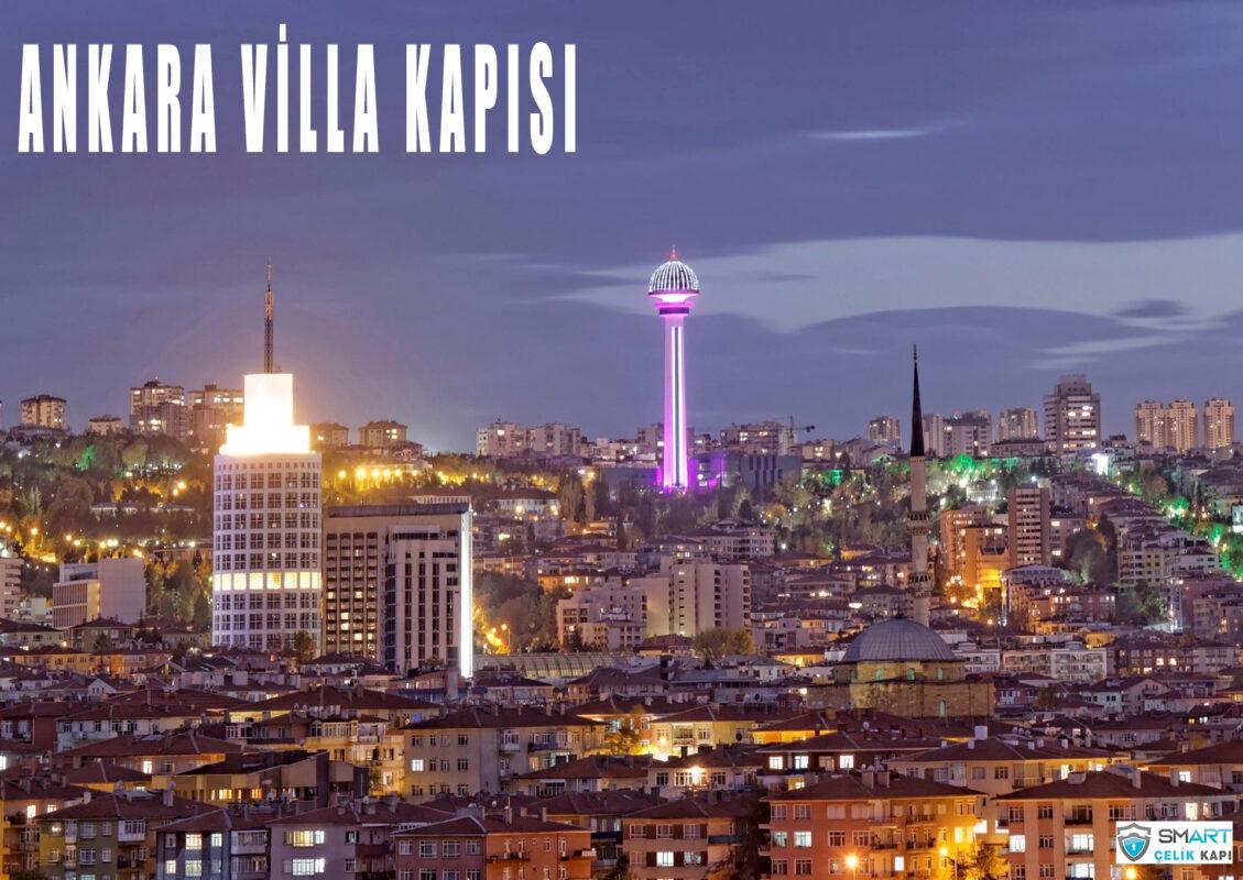 Ankara villa kapısı