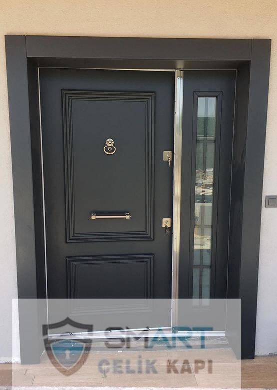 Black Kompak Kompozit Villa Kapısı YHY 0300