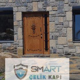 Kahverengi Özel Kompak Kompozit Villa Kapısı YHY 0302