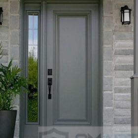 Gri Modern Lüks Villa Kapısı YHY 0310