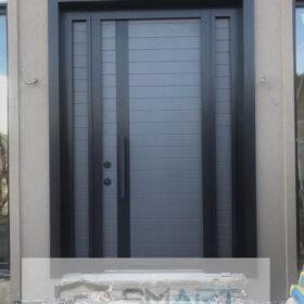 Özel Gri &Siyah Villa Kapısı YHY 0307