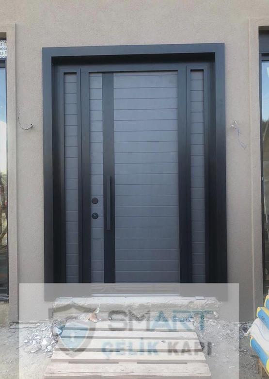 Özel Gri & Siyah Villa Kapısı YHY 0307