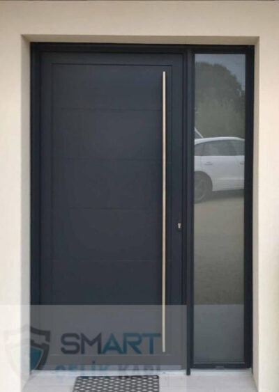 Siyah Modern Lüks Özel Villa Kapısı YHY 0311