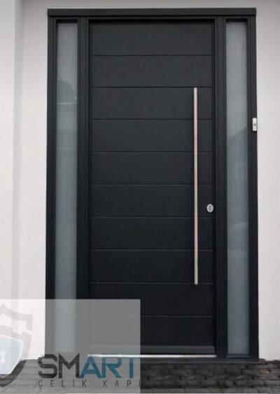 Siyah-Modern-Lüks-Villa-Kapısı-YHY-0309